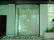 Водопад по стеклу Aquadecor