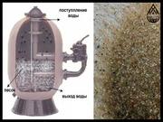 Кварцевый песок для фильтра бассейна