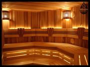 Основное освещение для бани
